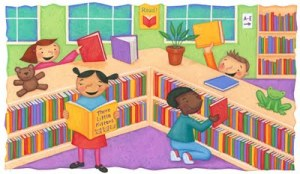 Childrens-Room-Library-Clip-Art